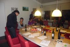 Wijnproeverij bij de Rabobank te Katwijk