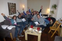 Super toffe wijnproeverij met jonge kerels in Boskoop