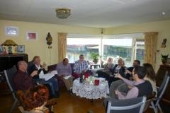 Wijnproeverij met vrienden in Enkhuizen.