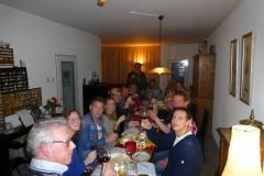 Wijnproeverij met vrienden in Bunnik. Gezelligheid troef.