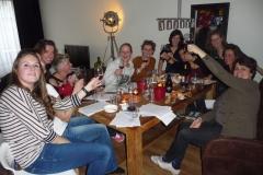 Wijnproeverij met vrienden in Rotterdam