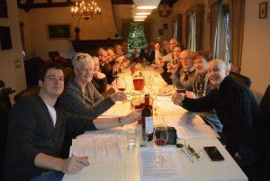 Wijnproeverij met familie feest op locatie in Gemert