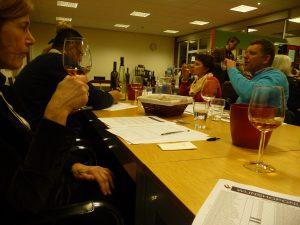 Wijnproeverij bedrijf RSG de Borgen te Leek