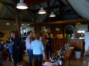 Wijnproeverij bedrijf van RSG de Borgen te Leek