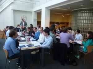 Wijnproeverij bedrijf Ortec-Finance te Rotterdam